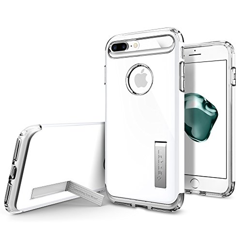 Spigen-Slim-Armor-iPhone-7-Plus-Case-with-Air-Cushion-Technology-and-Hybrid-Drop-Protection-for-iPhone-7-Plus-Jet-White