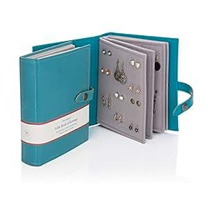 Little Book of Earrings - Teal - Earring Storage Solution