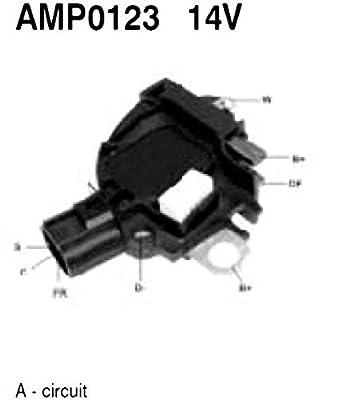 Voltage Regulator 14V for FORD FOCUS 1.8 TD Cummins VW MAGNETI MARELLI 85562801