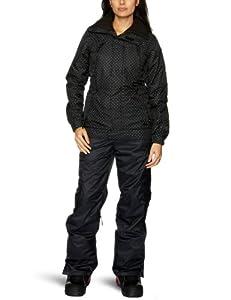Protest Women's HEDY boardjacket  - True Black, Medium/38