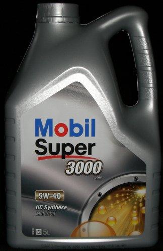Mobil Super 3000 X1 5W-40 Motoröl 5W40 5 Liter