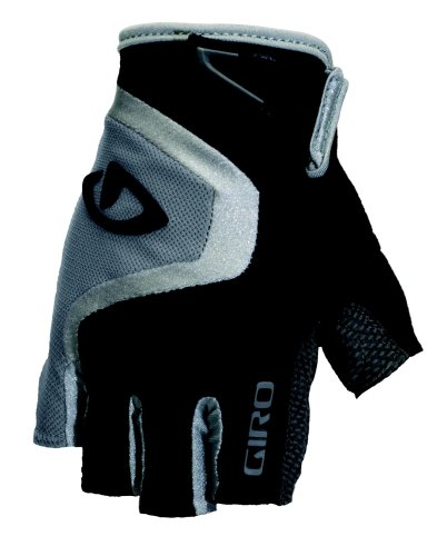 Giro Bravo Cycling Glove (Black/Charcoal, Small)