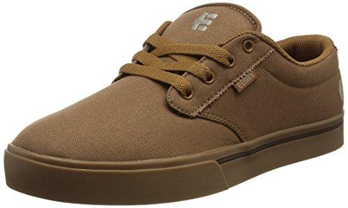 Etnies Men's Jameson 2 Eco Skateboarding Shoe, Brown/Brown/Gum, 10.5 M US