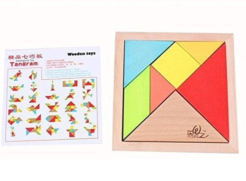 Newcreativetop-7-Piece-Children-Educational-Toy-Colorful-Wooden-Brain-Training-Geometry-Tangram-Puzzle