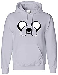 Jake The Dog Mens Boys Womens Ladies Girls Unisex Comic Super Hero Hoodies Hooded Sweatshirt Pullover Hoodie Sweat Hoody Casual Sports XS S M L XL Many Colors & sizes Available by SnS Apparel