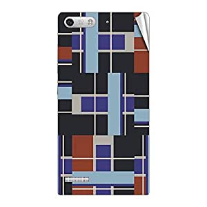 Garmor Designer Mobile Skin Sticker For Huawei Ascend G6 - Mobile Sticker