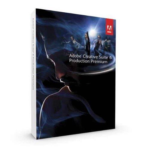 Adobe French Retail CS6 Production Premium  Mac - 1 User