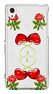 WOW Transparent Printed Back Cover Case For Sony Xperia Z2