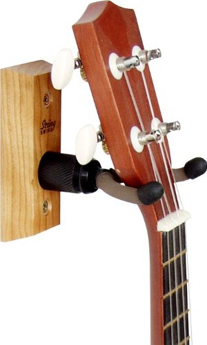 String Swing Home and Studio Ukulele Hanger, wood