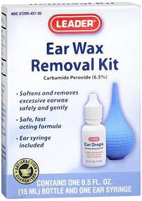 Leader Ear Wax Removal System Kit by Apothecary Products, Inc.