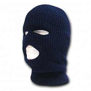 Decky NAVY BLUE TACTICAL MASK SKI CAP FACE PROTECTOR 3 THREE HOLE at Sears.com