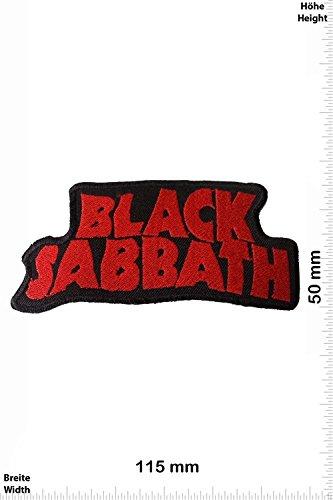 Patch - Black Sabbath Aufnäher - MusicPatch - Rock - Chaleco - toppa - applicazione - Ricamato termo-adesivo - Give Away