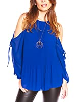 JUST SUCCES Blusa Elite (Azul)