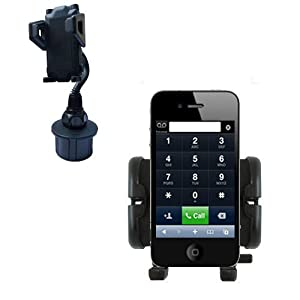 Car Cup Holder for the Apple iPhone 4 - Gomadic Brand