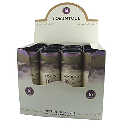 Tomintoul 16 year old Single Malt Scotch Whisky 5cl Miniature - 12 Pack from Tomintoul