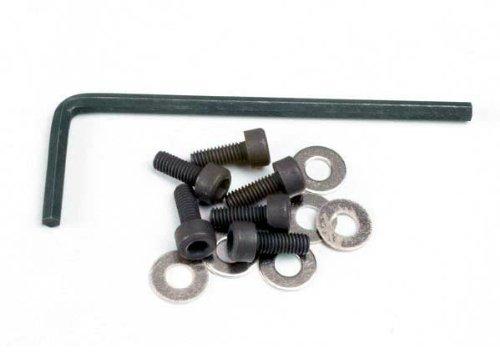 Traxxas 1552 Hex Motor Screws, 4-Piece