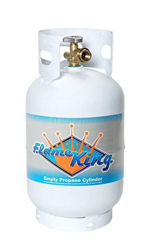 Flame King YSN011 Steel Propane Cylinder with Type 1 Overflow Protection Device Valve, 11-Pound (Propane Tanks compare prices)