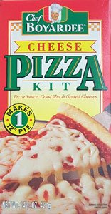 Chef Boyardee Cheese Pizza Kit - 6 Unit Pack