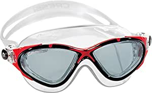 Cressi Saturn Crystal Swim Mask, Clear Red [Sports]