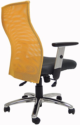 Ergo Vibrant Office Seating - Goldenrod Yellow