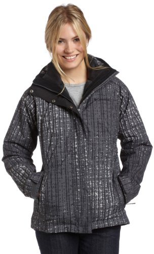 Columbia Women's Bugaboo Insulated Interchange Parka - Black Bubbles Print, X-Large