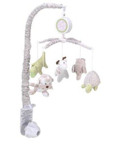Koala Baby Nursery Essentials Jungle Mobile - Mocha front-188996