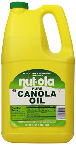 nutola canola oil 96 ounce food beverages tobacco food items cooking baking ingredients cooking. Black Bedroom Furniture Sets. Home Design Ideas