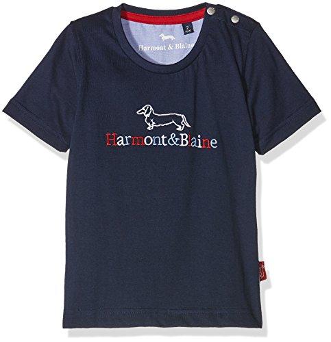 Harmont & Blaine junior T-Shirt Istituzionale R. Multicolor, Maglietta Bambino, Blueberry, 8y