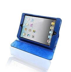 Bear Motion ® 100% Genuine Leather Folio Case for iPad Mini 7.9