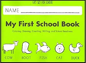 Get Set for School, My First School Book (Handwriting Without Tears) Emily Knapton Jan Olsen and Jan Olsen