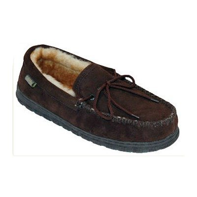 Cheap Cloud Nine Men's Northwest Moccasin (13 B(M) US, Chocolate / Gold Misty) (B005FYE886)