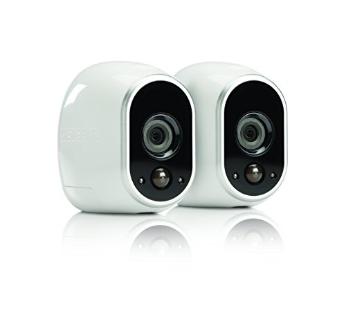 Arlo Security System - 2 Wire-Free HD Cameras, Indoor/Outdoor, Night Vision (VMS3230) (Battery For Camera compare prices)