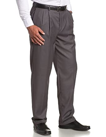 ec7de2d15dc Savane Men s Select Edition Pleated Gaberdine Dress Pant