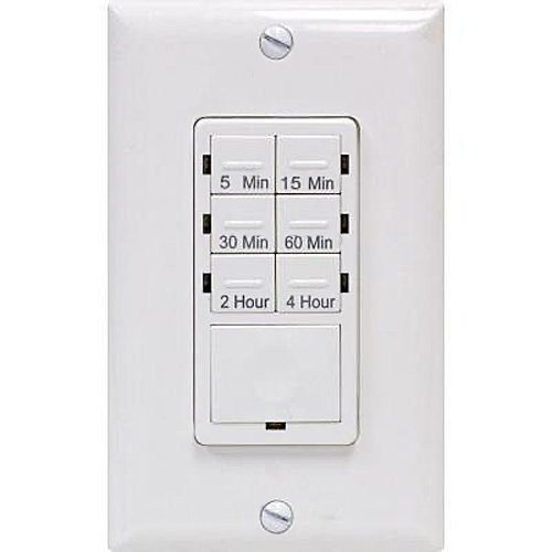 Ge Push Button Digital In-Wall Countdown Timer front-394990