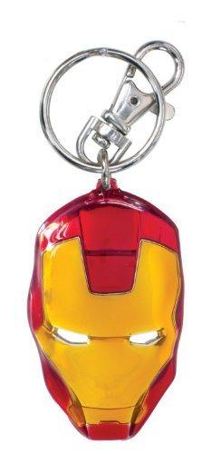 Marvel Iron Man Head (Classic ) Colored Key Ring