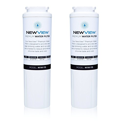 Maytag UKF8001 Replacement Refrigerator Water Filter by NewView™ -Better Water Filtration & Purification for Your Home Kitchen -Compatible w/ Kenmore Models 469006 & 46 9992 -TWO PACK