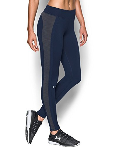 Under Armour Women's ColdGear Leggings, Midnight Navy (411), X-Small
