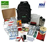 The Saver2x72 Two-Person 72-Hour Kit for Hurricane / Earthquake / Emergency Preparedness