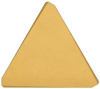 "Sandvik Coromant T-MAX MILLING  Carbide Milling Insert, TPK Style, Triangle, GC2030 Grade, TiAlN Coating, TPK43P2R,0.187"" Thick, 0"" Corner Radius (Pack of 10)"