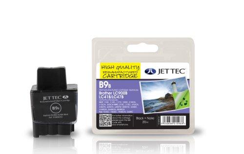 Jet Tec BRLC900BK Tintenpatrone für Brother LC900, schwarz