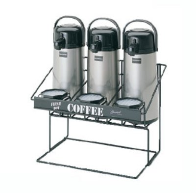 Bloomfield 3023-SRVRK3B Airpot Serving Rack with 6