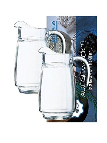 2er-set-pitcherkrug-pitcher-23-liter-tivo-saftkrug-wasserkrug-kurg-orangensaft-glaskrug-vitrea