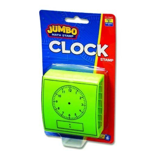 Educational Insights Jumbo Clock Stamp - 1