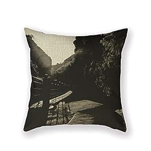 customized standard new arrival pillowcase wood cahorros bridge target throw pillow. Black Bedroom Furniture Sets. Home Design Ideas