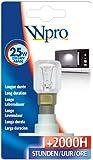 Philips 41-WP-05 Microwave A-Base Lamp Bulb, 25 Watt
