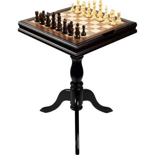 Deluxe Chess and Backgammon Table