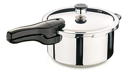 Presto-01341-Stainless-Steel-3.7-L-Pressure-Cooker-(Inner-Lid)