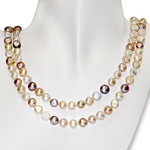 FW Multi Colored Pearl Necklace