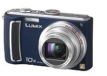 Panasonic Lumix DMC-TZ5A 9.1MP Digital Camera with 10x Wide Angle MEGA Optical Image Stabilized Zoom (Blue)