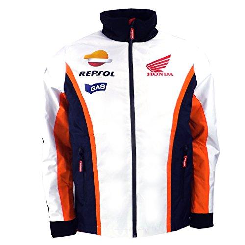 Official Honda Repsol Moto GP Team Gas Paddock Jacket Marquez Pedrosa (Honda Repsol Jacket compare prices)